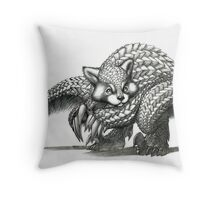 The Red Pandolin Throw Pillow