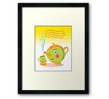 Little Teapot Framed Print