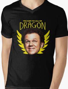 Dragon Mens V-Neck T-Shirt