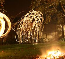 Fire Dancing #2 by Helen Patmore