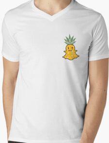 """Snapchat"" Highnapple Mens V-Neck T-Shirt"