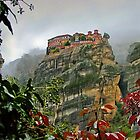 Meteora Monastery - world heritage site in Greece. by axieflics