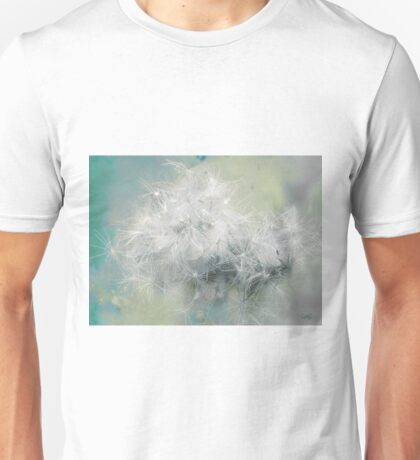 Fluffs of dandelion Unisex T-Shirt