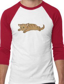 Tired Kitten Men's Baseball ¾ T-Shirt
