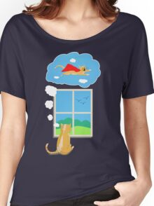 Cats Just Wanna Have Fun Women's Relaxed Fit T-Shirt