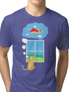 Cats Just Wanna Have Fun Tri-blend T-Shirt