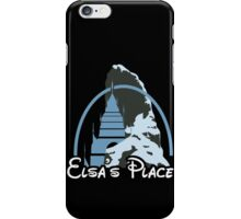 Elsa's place - Disney castle iPhone Case/Skin