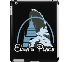 Elsa's place - Disney castle iPad Case/Skin