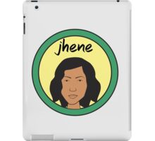 Jhene Morgendorffer iPad Case/Skin