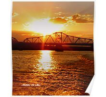 Sunset Gold  Poster