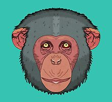 Monkey by Absurd  Digital Imagery