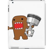 Domo with Piston iPad Case/Skin