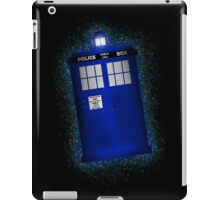 TIME AND RELATIVE DIMENSION IN SPACE (TARDIS) iPad Case/Skin
