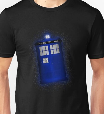 TIME AND RELATIVE DIMENSION IN SPACE (TARDIS) Unisex T-Shirt