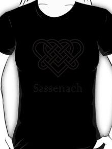 Sassenach Double Celtic Love Knot T-Shirt
