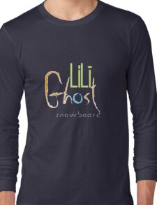LiLi Ghost - Snow Board - V2 Long Sleeve T-Shirt