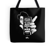 Drink Milk and Kick Ass Tote Bag