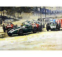 1959 Monaco GP  #24 Cooper Climax T51 Jack Brabham Winner  Photographic Print