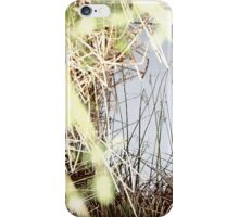 Reflection in the Weeds iPhone Case/Skin