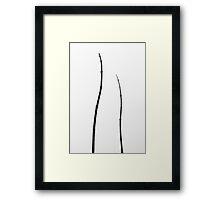Minimal Nature Framed Print