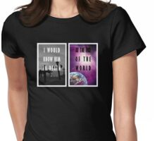 Song of Achilles Quote Womens Fitted T-Shirt
