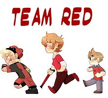 Team Red- Little Heros 1 by Pixlezq