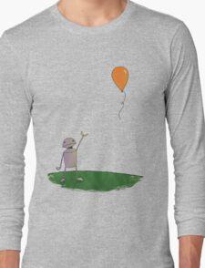 Sad Robot - The Balloon Long Sleeve T-Shirt