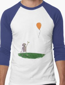 Sad Robot - The Balloon Men's Baseball ¾ T-Shirt