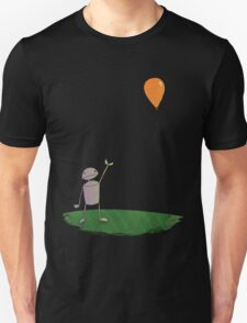 Sad Robot - The Balloon Unisex T-Shirt