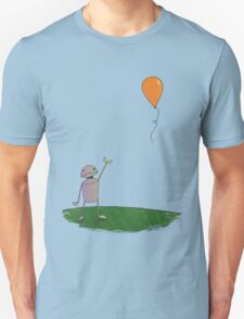 Sad Robot - The Balloon T-Shirt