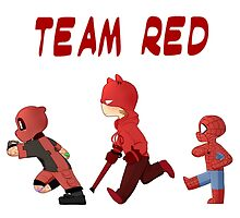 Red Team- Little Heros 2 by Pixlezq