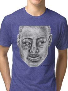 African Woman Tri-blend T-Shirt