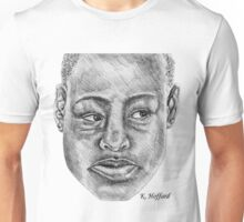 African Woman Unisex T-Shirt