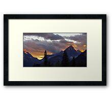 On Fire Framed Print