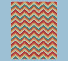 Retro Zig Zag Chevron Pattern Kids Clothes