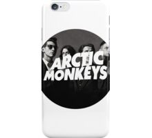 Arctic Monkeys Circle iPhone Case/Skin