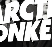 Arctic Monkeys Circle Sticker