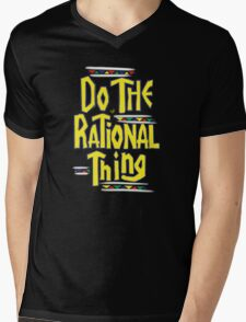DO THE RATIONAL THING by Tai's Tees Mens V-Neck T-Shirt