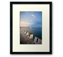 123456789 Framed Print