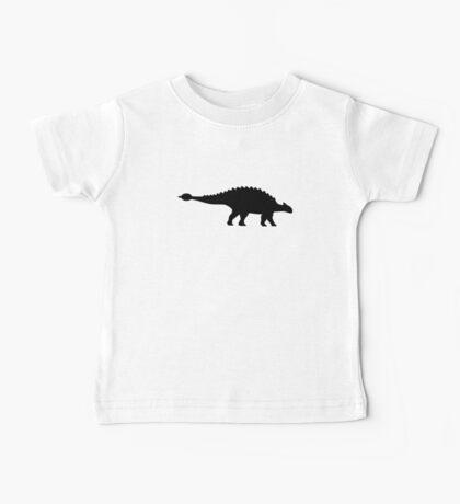 Dinosaur ankylosaurus Baby Tee