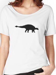 Dinosaur ankylosaurus Women's Relaxed Fit T-Shirt
