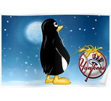 Penguin Relief Poster