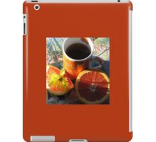 The First Cup iPad Case/Skin