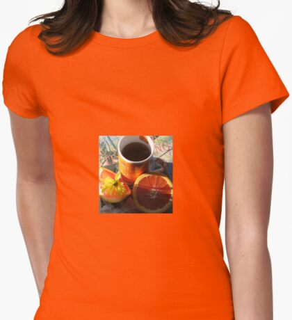 The First Cup Womens Fitted T-Shirt