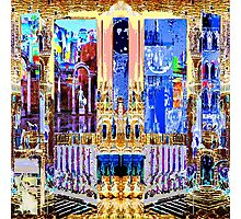 FUTURE PAST AND PRESENT - Carnival Night series Photographic Print
