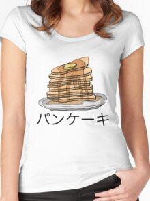 Pancake Shirt Women's Fitted Scoop T-Shirt