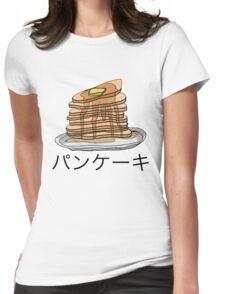 Pancake Shirt Womens Fitted T-Shirt
