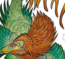 Jinfengopteryx - Golden Phoenix Wing Sticker