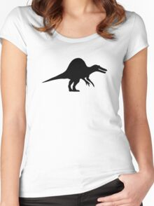 Dinosaur spinosaurus Women's Fitted Scoop T-Shirt