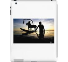 Donkey Surfin iPad Case/Skin